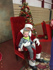 "Paul with Santa at Mooseheart • <a style=""font-size:0.8em;"" href=""http://www.flickr.com/photos/109120354@N07/24457380659/"" target=""_blank"">View on Flickr</a>"