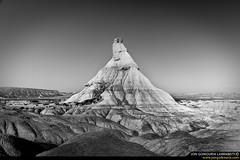 Seas of sand. (jongoikoh) Tags: sea mountain de desert dry desierto montaa castillo navarre navarra tierra euskal herria sequia nafarroa bardenas castildetierra bardenak