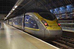 Newrostar 22/01/16 (MCW1987) Tags: london saint eurostar class emu pancras 4010 374 374010