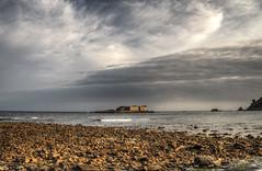 fort Raz on Alderney (neilalderney123) Tags: water clouds landscape bay fort olympus alderney raz longis fortraz neilhoward neilhoward