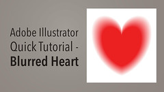 Illustrator Heart Tutorial (creativeloads.com) Tags: blur illustration photoshop design day heart cs2 romance cc tip adobe short tips valentines cs illustrator easy quick effect vector learn tutorial cs3 cs4 effective cs6 begginer cs5