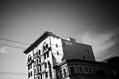 why (eb78) Tags: sf sanfrancisco california ca blackandwhite bw streetart monochrome mural soma grayscale greyscale