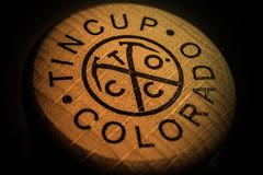 Tin Cup (AxelBergeron) Tags: logo colorado whiskey alcool alcohol booze whisky scotch bourbon tincup whiskeybottle