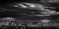 Santa Fe Baldy (Mabry Campbell) Tags: winter blackandwhite usa mountain snow mountains newmexico santafe june clouds dark landscape photography countryside photo december moody photographer image unitedstatesofamerica fineart peak landmark hasselblad f90 photograph 100 24mm mountians fineartphotography santafebaldy 2014 landscaoe 2015 sangredecristo commercialphotography santafecounty tse24mmf35l sec mabrycampbell june12014 h5d50c 20140601h6a6562