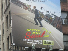Better Call Saul Building Billboard 5955 (Brechtbug) Tags: show street new nyc walter white signs man building bus face its television hail yellow wall season for bill tv call king all remember with good name board telephone bad bob billboard advertisement bryan angry billboards actor saul amc avenue 7th better 29th spinoff breaking goodman odenkirk 2016 cranston my 01292016