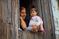 Grandmother and Granddaughter (Tom Taylor (Windsor)) Tags: family santiago love proud happy grandmother cuba granddaughter babysitter cuban cubano
