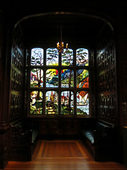 All things bright and beautiful (surreyblonde) Tags: wood windows colour london glass portal neogothic recess stainglass mahogany 2templeplace lordastor bulldogtrust