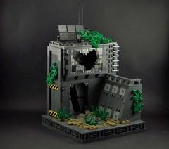 Still Alive (Brick Productions) Tags: dark dead grey lego scifi alive apoc