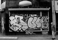 graffiti amsterdam (wojofoto) Tags: blackandwhite holland amsterdam graffiti zwartwit nederland un netherland farao wolfgangjosten wojofoto