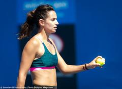 Amandine Hesse (Jimmie48 Tennis Photography) Tags: sport australia brisbane tennis 2016 brisbaneinternational amandinehesse
