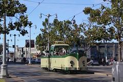 1934 English Electric # 233 (busdude) Tags: street england boat san francisco market tram railway muni streetcar blackpool municipal sfmuni marketstreetrailway englishelectric tramways boattram blackpooltramways muniheritage