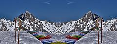 Return to Innocence  - Himalayan prayer flags? (W_von_S) Tags: blue schnee sky panorama snow mountains alps germany landscape bayern deutschland bavaria wind outdoor sony himmel berge alpine mirrored alpen blau himalaya paysage landschaft paesaggio snowscape werner snowlandscape zugspitze schneelandschaft fahnen gebetsfahnen gespiegelt returntoinnocence a700 bergpanorama alpineview himalayanprayerflags alpinepanorama wvons alpinewinterpanorama