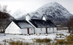 Black Rock Cottage - Glencoe by Grant Hulley (henryhulley) Tags: winter wild white mountains nature beautiful canon scotland scenery view cottage glencoe wilderness scottishhighlands unspoilt canonuser blackrockcottage naturewatcher