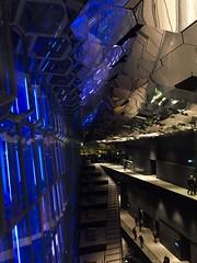 Harpa Reykjavik (unnurol) Tags: blue grey indoor reykjavik musichall concerthall hapra