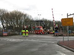 spoorwegovergang Emplacementsweg Beverwijk_20160215-09 (PieterBeverwijk) Tags: beverwijk spoorwegovergang ahob pnm emplacementsweg