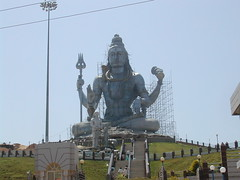 Lord Shiva Statue (TREASURES OF WISDOM) Tags: sculpture art love look statue mystery wow wonderful asian religious temple this is nice worship shrine view god outdoor spirit yes magic faith like visit tribal lord figure sacred unknown what ritual unusual vibes spirituality wisdom spiritual shiva devotee hindu healing hinduism puja deity shamanic mystic pagan unseen mythical hunduism southindian intresting shaivite shivaite