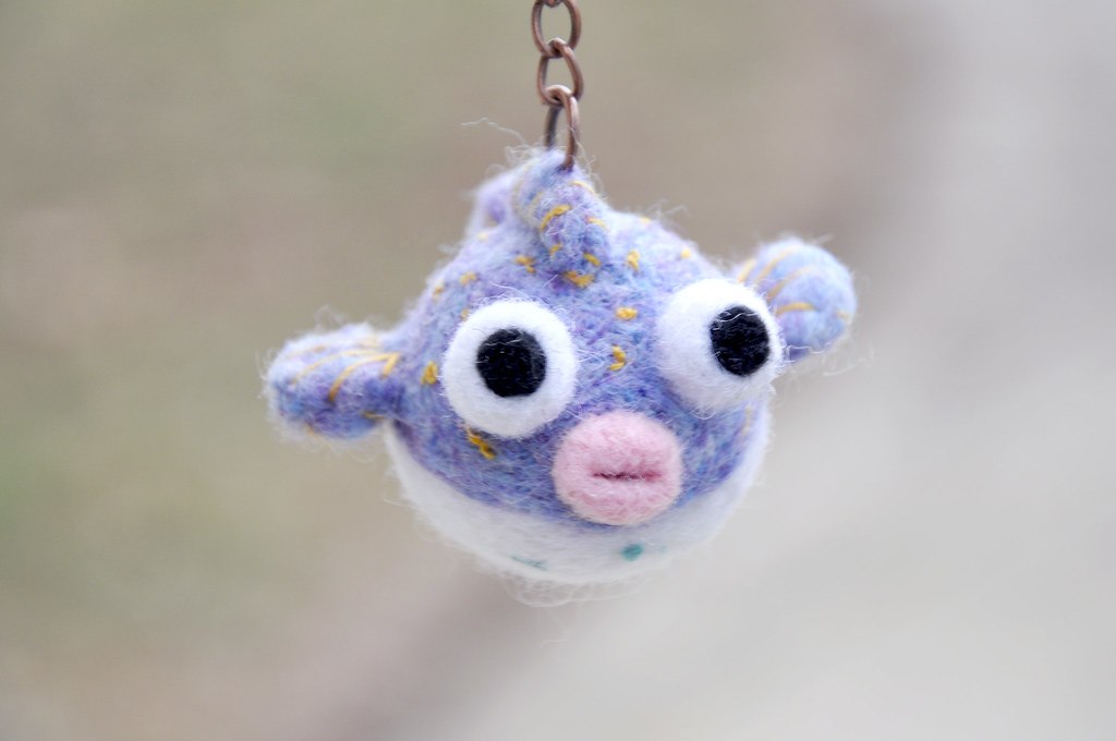 The world 39 s most recently posted photos of amigurumi and for Puffer fish stuffed animal