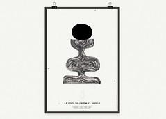 La Vasija que contiene el silencio. (Mario Felipe_) Tags: trip viaje art peru illustration poster design graphicdesign flyer graphic lima negro draw iquitos cartel ayahuasca pabloneruda losjaivas mariofelipe iaoeu
