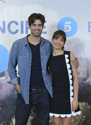 Rubén Cortada y Hiba Abouk - Rueda de prensa - El desenlace