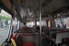 1969 GMC T8H-5305 #3287 (busdude) Tags: san francisco railway muni fishbowl newlook gmc municipal t8h5305 muniheritage