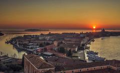 Tramonto in laguna (Fil.ippo) Tags: venice sunset water landscape tramonto cityscape lagoon laguna venezia isle hdr filippo isola sangiorgiomaggiore d7000 filippobianchi