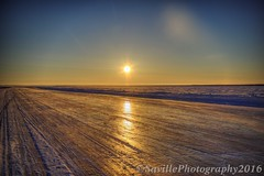 ABC_7342s (savillent) Tags: road travel sky sun snow ice river landscape march frozen nikon arctic mackenzie climate inuvik 2016 tuktoyaktuk savillent