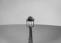 horizons (Stewart485) Tags: england technology places things science jodrellbank impression mechanism radiotelescope evocative vaguelyarty