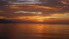 Sunset before eclipse (padraic_koen) Tags: sunset indonesia sulawesi ampana gulfoftomini