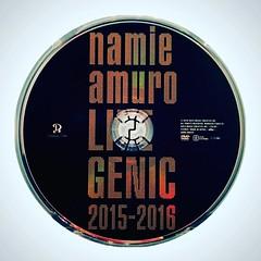 LIVEGENIC 2015-2016 (DVD) (Namie Amuro Live ) Tags: namie amuro dvdcover  livegenic20152016