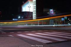 Luxor Theater (Mone-Photography) Tags: night rotterdam exposure theater theatre luxor sluitertijd langesluitertijd