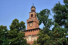 Milano - Il Castello Sforzesco (Franco Serreli) Tags: milano castellosforzesco piazzacastello