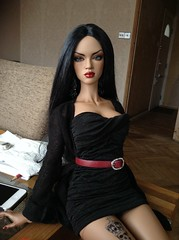 Working woman (Troublestar) Tags: bjd lightbrown iplehouse nyid iple iplehouseaaliyah