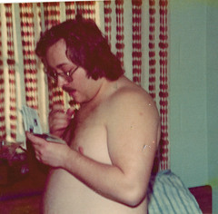 Rick in Dorm (kevin63) Tags: old 1974 kent kevin photos dorm rick seventies lightner glenvillestatecollege louisbennethall
