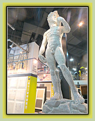 Statue Of David (bigbrowneyez) Tags: ontario canada macro sexy art beautiful statue nude grande italian dof sweet masculine decorative gorgeous ottawa creative handsome dolce tiles delight precious frame surprise huge fabulous guapo statua epic impressive marvelous artful delightful cornice bello statueofdavid bellissimo impactful eurotiles