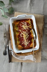 cannelloni (zesttangerine) Tags: ricotta ail tomate plat recette pinard oignon cannelloni pinards