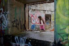 spring exploring (tuckamore.) Tags: newfoundland graffiti stjohns signalhill fortamherst