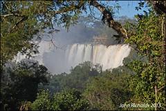 Iguazu Falls Day 1. First Glimpse. (john.richards1) Tags: argentina nikon sigma falls iguazu d80