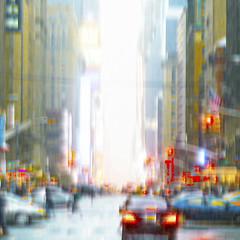 7thAvenueBlur (wesbs) Tags: street nyc newyorkcity newyork blur color cars streetlights manhattan taxis taillights 7thavenue tailights seventhavenue hss streetblur sliderssunday happysliderssunday