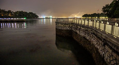 Labrador Park Quay (Eracross) Tags: night photography singapore slow sony slowshutter shutter harbourfront a77ii