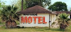 Wayside Motel (Rob Sneed) Tags: texas hempstead oldhighway290 motel wayside roadside smalltown abandoned waysidemotel americana texana usa advetising independent sign vintage handpainted hempsteadhighway