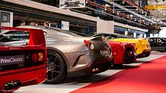 Nice ass*s (Bram van Heijnsbergen) Tags: car amsterdam italian ferrari german porsche alfaromeo supercar f40 f12 599 ferrarif40 hypercar 599gto laferrari ferrarif12 ferrari488gtb