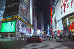 Times Square 2015 (ryanjohns821) Tags: nyc times square new york city night architecture advertise mini cooper nypd bower14mm bower 14mm flickr canon photography