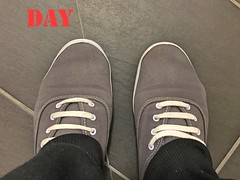 DAY 12 #keds (slo.jean) Tags: new old wet hole used worn torn trashed keds