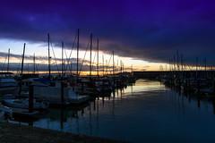 big sky over the wharf (petespande) Tags: sanfrancisco sunrise boats nikon fishermanswharf 20mm 20mm18 nikond750