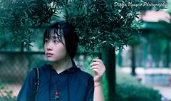 After the rain (Diablo Nguyen Photography ( Chnh Nguyn )) Tags: 50mm nikon deep greenery potraits