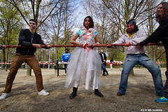 ZomBIFFF Day (Red Cathedral is alive) Tags: brussels blood zombie bruxelles eerie gore horror undead grime zombies brussel larp livingdead bifff zombiewalk warandepark zombieparade thewalkingdead parcroyal eventcoverage ropepulling aztektv zombieolympics zombifff