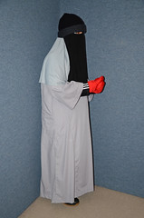 Heavy warm clothes under the Abaya (Buses,Trains and Fetish) Tags: winter hot girl hijab torture niqab abaya maid anorak slave burka chador