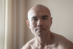 IMG_1374 (Zefrog) Tags: uk portrait man london pecs asian topless johann zefrog