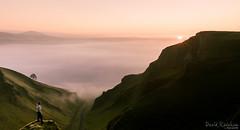 Winnats Selfie (David Raynham) Tags: cloud sunrise landscape nikon derbyshire peakdistrict ngc inversion winhill darkpeak selfie winnatspass hopevalley d300 losehill castelton nikkor2470mmf28g