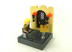 The Lord of the Rings - I Found a Gold Brick... oh wait, This Game doesn't have Gold Bricks... (TheRoyalBrick) Tags: lego lotr vignette moc foitsop